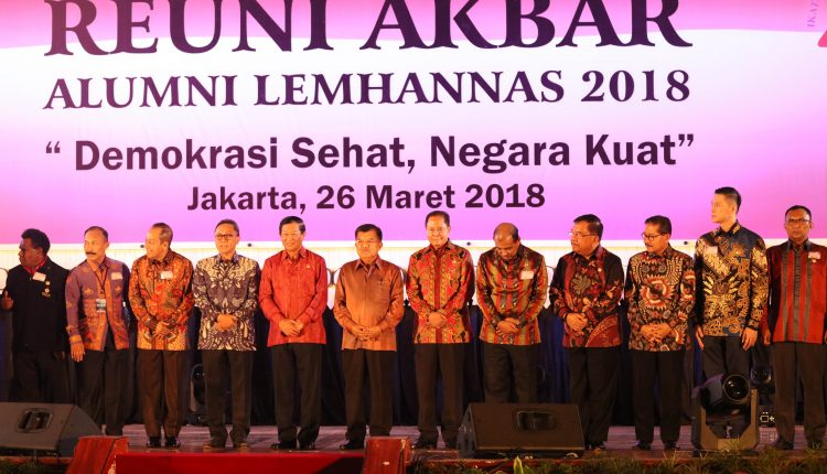 Reuni Akbar Alumni LEMHANNAS 2018
