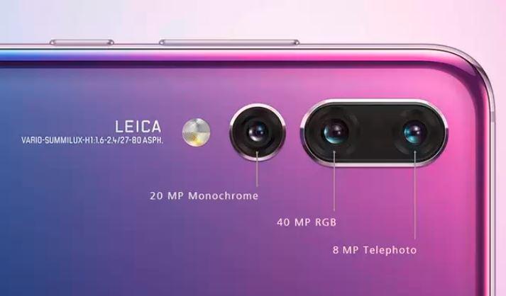 kamera huawei pro p20