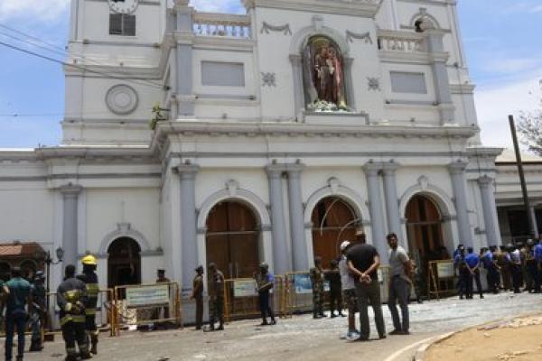 Amerika Kutuk Serangan Bom Sri Lanka