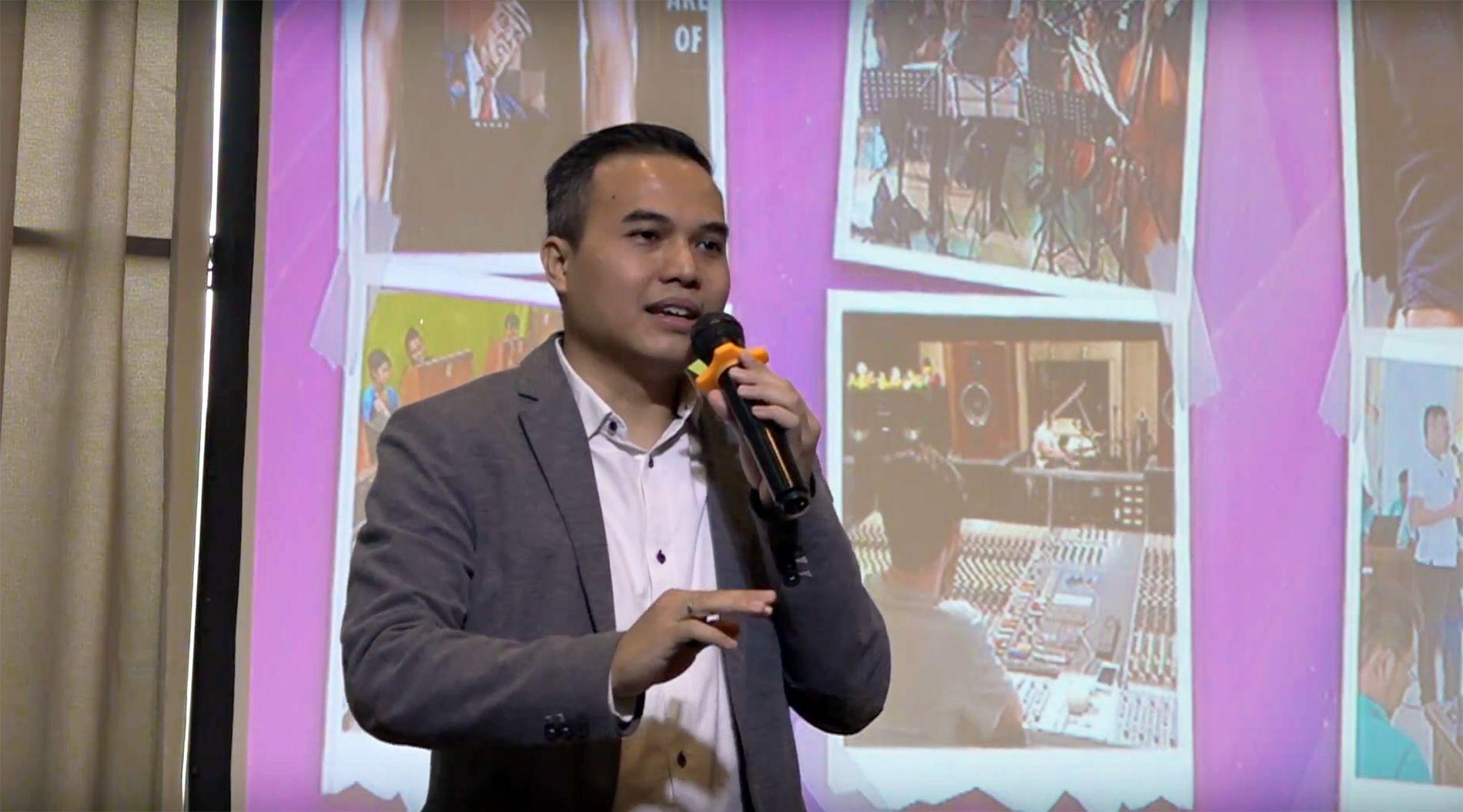 Tessar Napitupulu Narasumber Seminar Kemerdekaan Digital