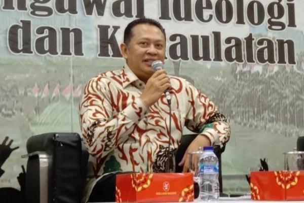 Cegah Corona, Ketua MPR Serukan Sikap Gotong Royong