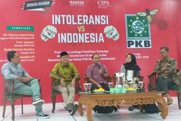 PKB Intoleransi dan Radikalisme Persoalan Serius Bangsa