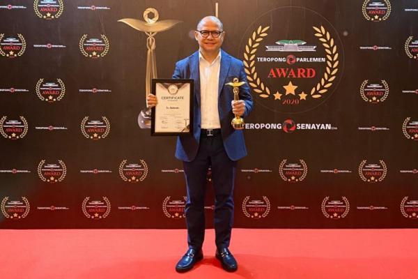 Raih Penghargaan Inspiring Journey, Mukhtarudin Semoga Dapat Menginspirasi Anggota Dewan