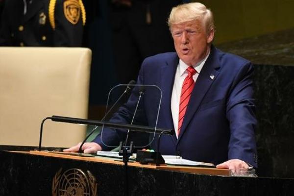 Trump Gelontorkan Rp1.549 Triliun, Warga AS Gratis Tes Covid-19 dan Digaji Negara