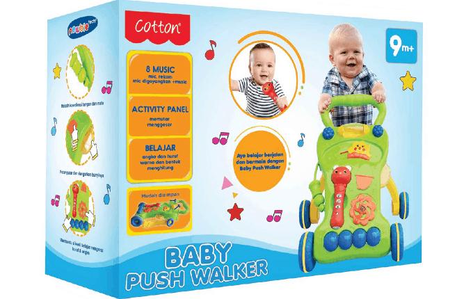 Baby Push Walker Acosta – Wartawan