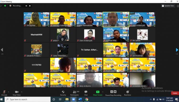 STMIK Nusa Mandiri Melaksanakan Webinar Nusa Mandiri Connect dan Menerapkan Digital Start Up-Wartawan