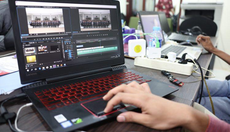 Proses Pembuatan Video Kilas Balik IKAL ke-40