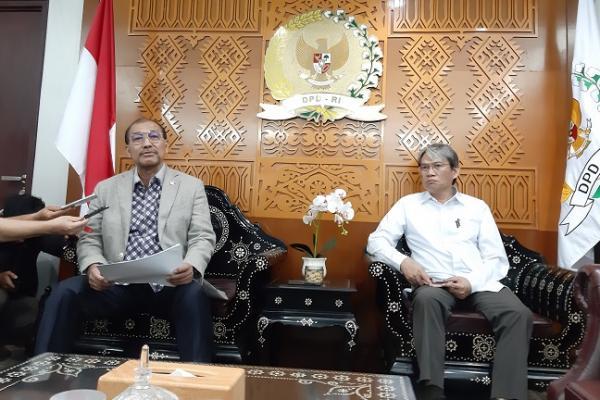 Nono Sampono Minta Anggota DPD RI Virus Corona di Daerah