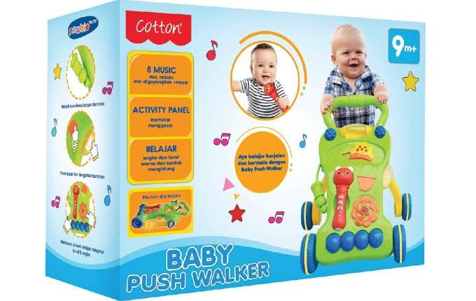Baby Push Walker – Wartawan