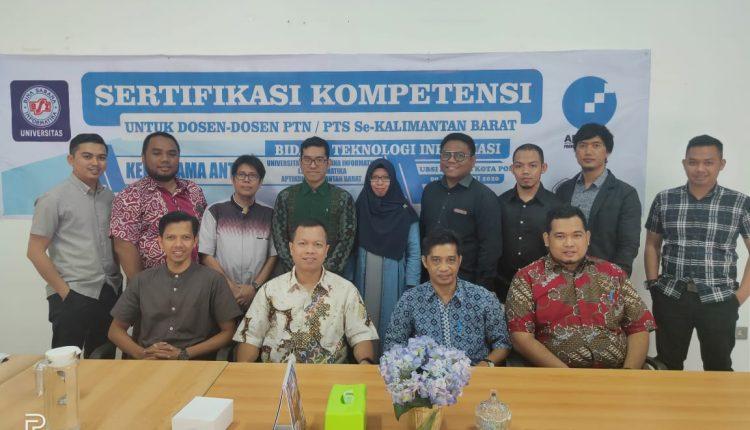 Kampus UBSI Pontianak Memfasilitasi Dosen dan Mahasiswa Untuk Sertifikasi dalam Meningkatkan Kompetensi Diri – Wartawan