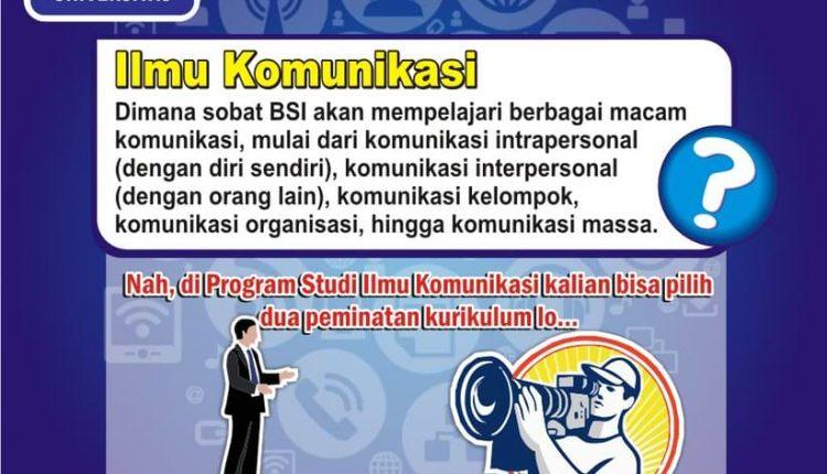 Prodi Ilmu Komunikasi UBSI – Wartawan
